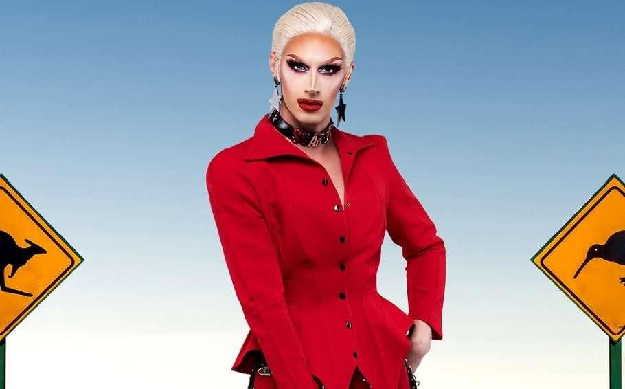 scarlet adams rupauls drag race down under promo blackface felicia foxx