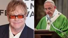 elton john pope francis same-sex marriage rocketman