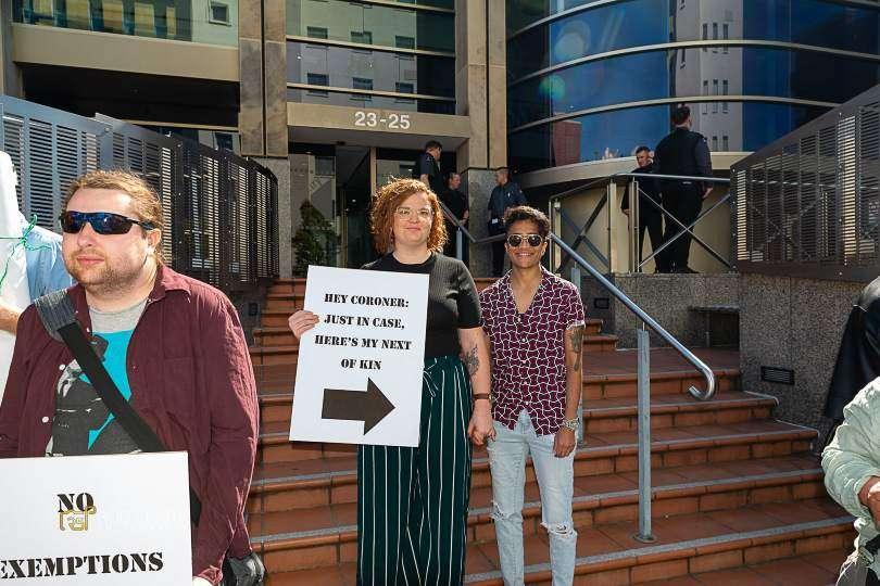 we stand with ben ben jago tasmanian coroner