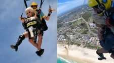 carmen taykett skydive gold coast pride festival same-sex marriage proposals