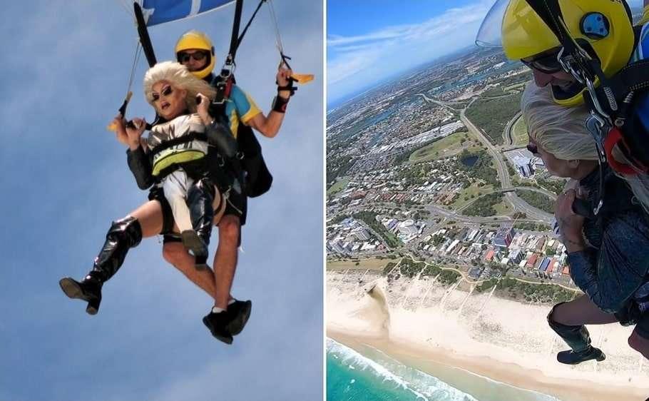 carmen taykett skydive gold coast pride festival same-sex marriage proposals