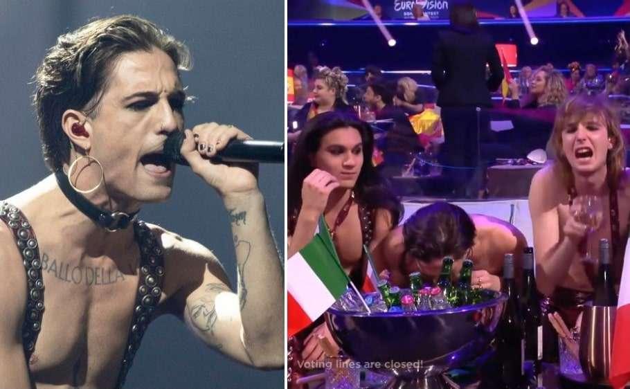 eurovision song contest italy 2021 winner maneskin lead singer drug test drug rumours cocaine