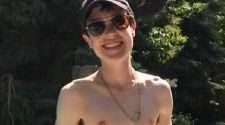 elliot page shirtless photo instagram