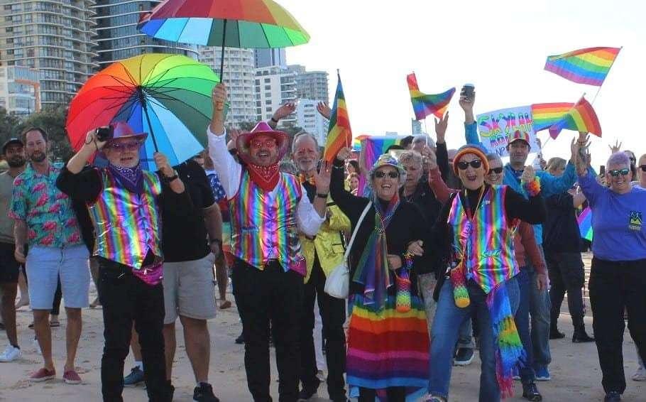 gold coast pride festival surfers paradise pride march beach 2021