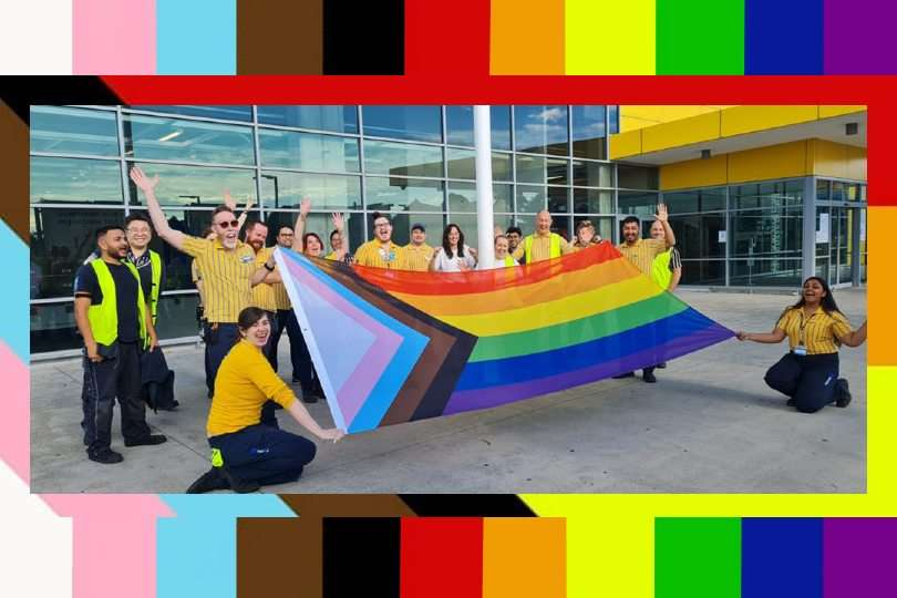 idahobit day 2021 progress pride flag ikea