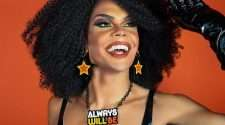 Felicia Foxx instagram photo drag queen drag performer indigenous sistergirl