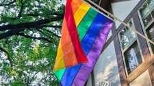 rainbow flag pride flag homeowners association