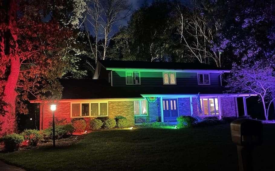 rainbow pride flag house usa homeowners association ban pride month