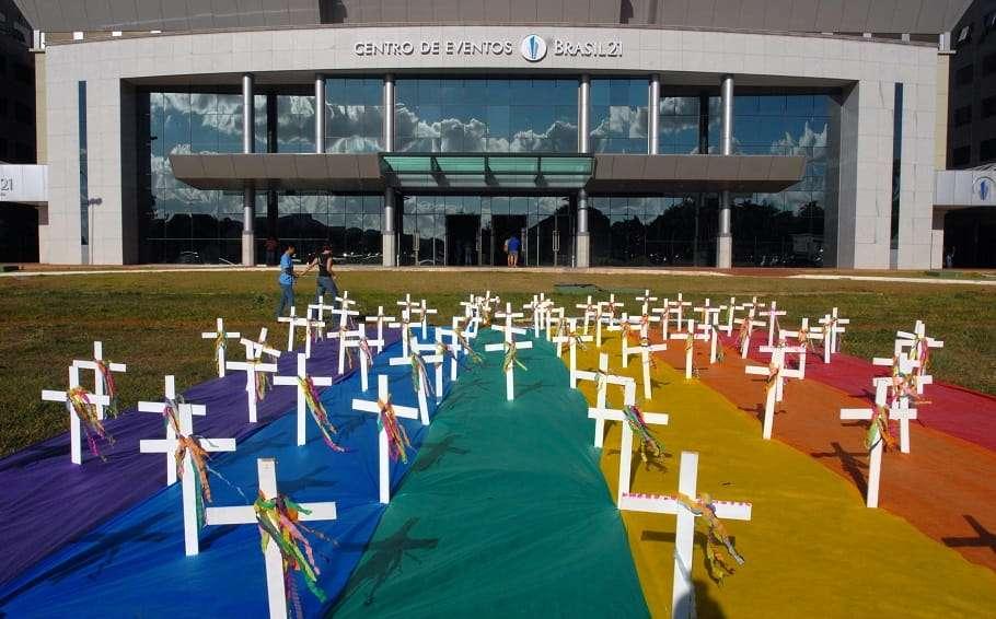brazil lgbt rights protest hate crime jair bolsonaro