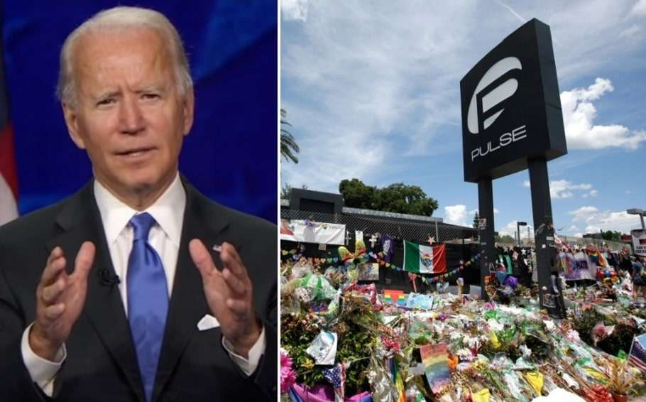 joe biden orlando pulse nightclub massacre mass shooting