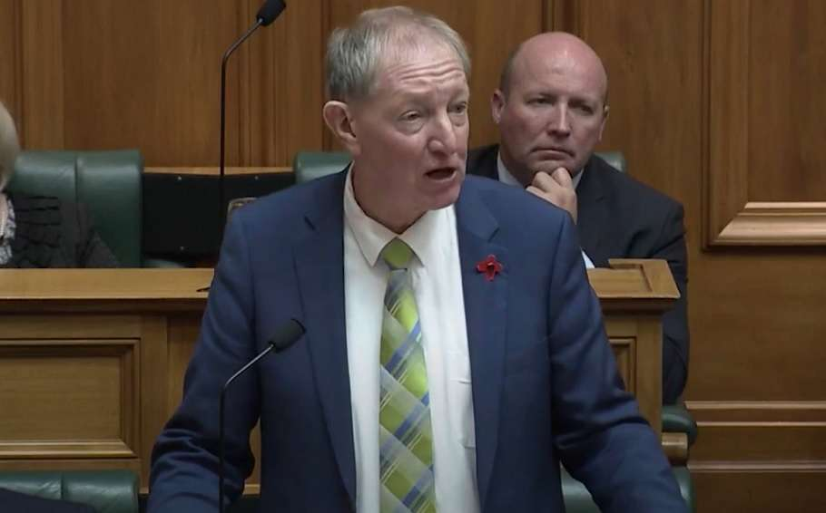 new zealand mp nick smith same-sex marriage lgbt son gay coming out