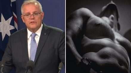 scott morrison online safety bill politics greens adult content