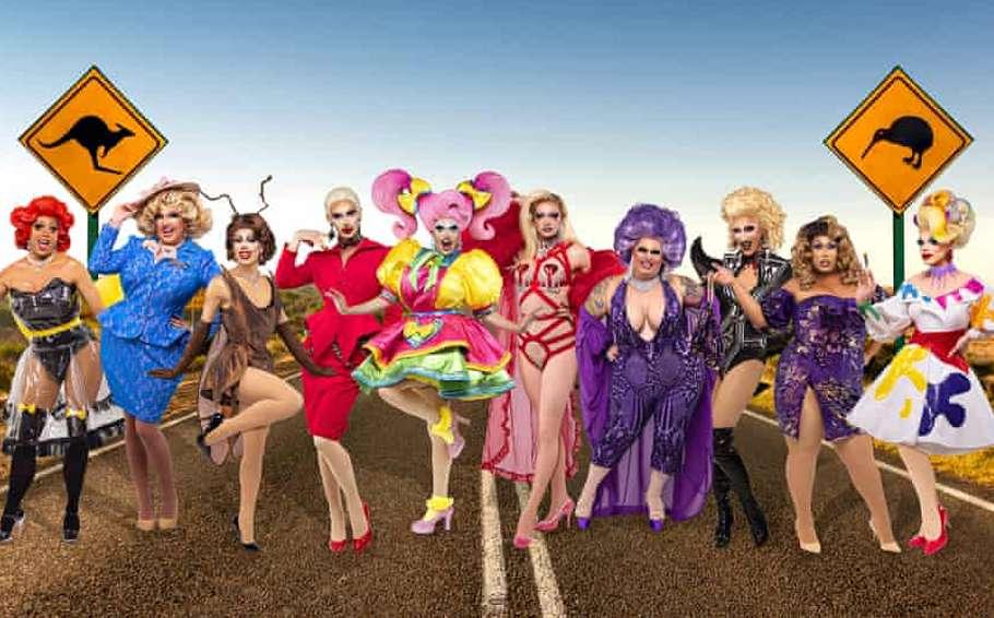 Drag Race Down Under Cast