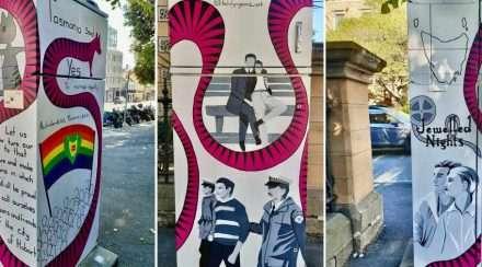 hobart street art tasmania LGBTIQA+ history