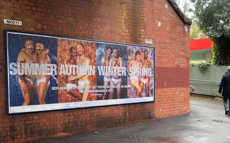 drama down under thorne harbour health ad standards sexual health gay men sti hiv