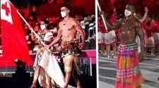 Tongan Flag Bearer Vanuatu
