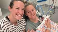megan Schutt jess holyoake baby wife pregnancy newborn