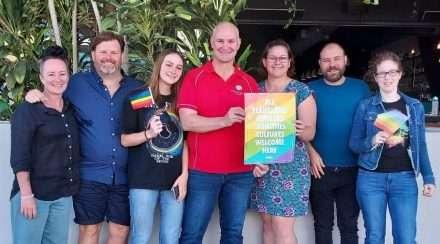 gladstone rainbow on the reef pride festival fair day lgbtiq group