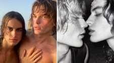 jordan barrett australian aussie model married wedding fernando casablancas husband gay couple ibiza kate moss