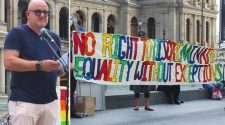 religious discrimination bill rally brisbane queensland mcc equal voices queensland kevin green