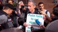 hating peter tatchell gay activist doco netflix russia protest