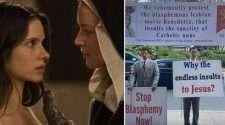 benedetta lesbian nun movie protest catholics