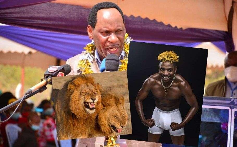 Ezekiel Mutua deputy jesus gay lions eric omondi