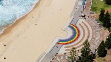 coogee beach sydney rainbow walkway randwick council