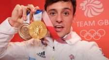 tom daley tokyo olympics gold medal